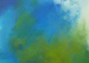 Natur und die blaue Farbe